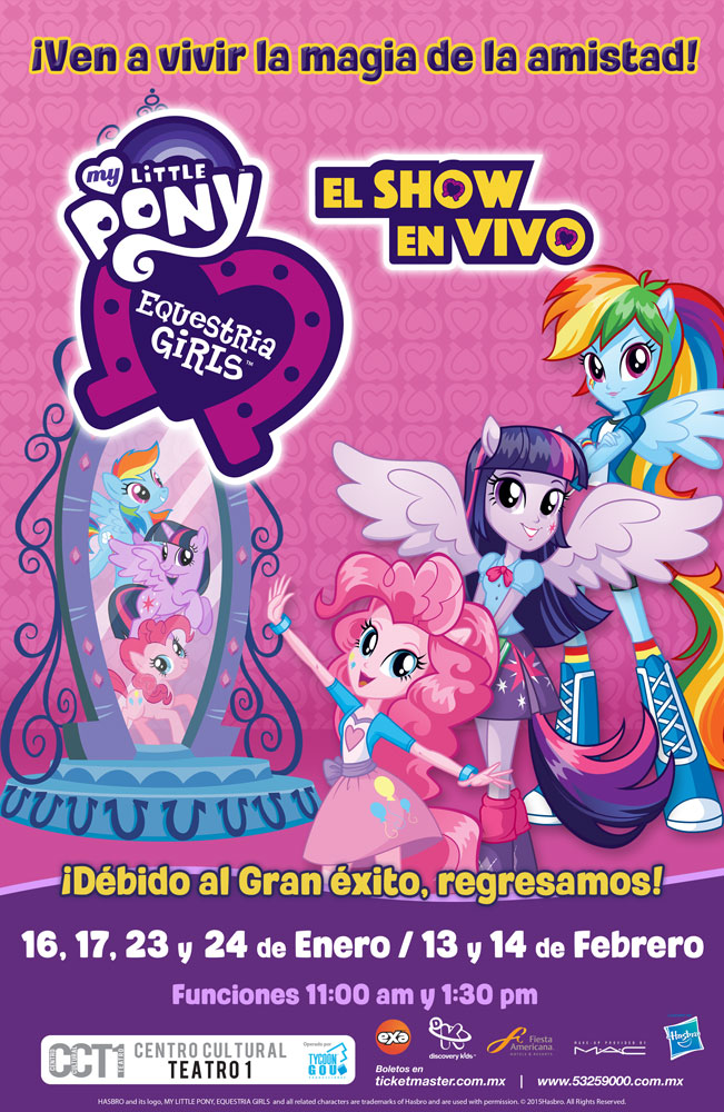 My little Pony Enquestra Girls